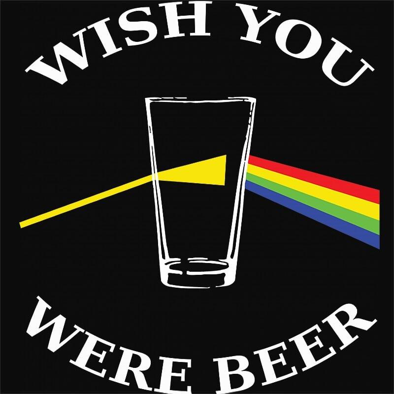 Wish You Were Beer Póló - Ha Festival rajongó ezeket a pólókat tuti imádni fogod!