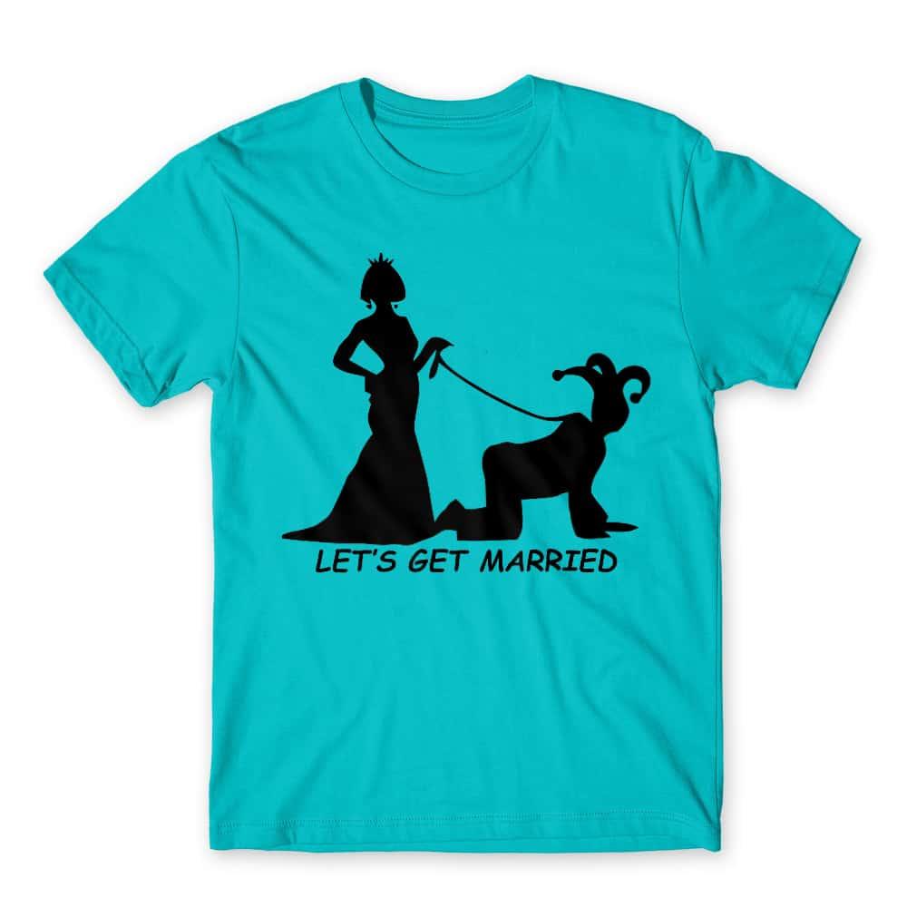 Let's get married Póló - Ha Bachelor Party rajongó ezeket a pólókat tuti imádni fogod!