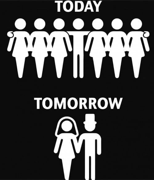 Today Tomorrow Póló - Ha Bachelor Party rajongó ezeket a pólókat tuti imádni fogod!