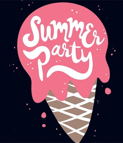Summer Party Ice Cream Póló - Ha Festival rajongó ezeket a pólókat tuti imádni fogod!