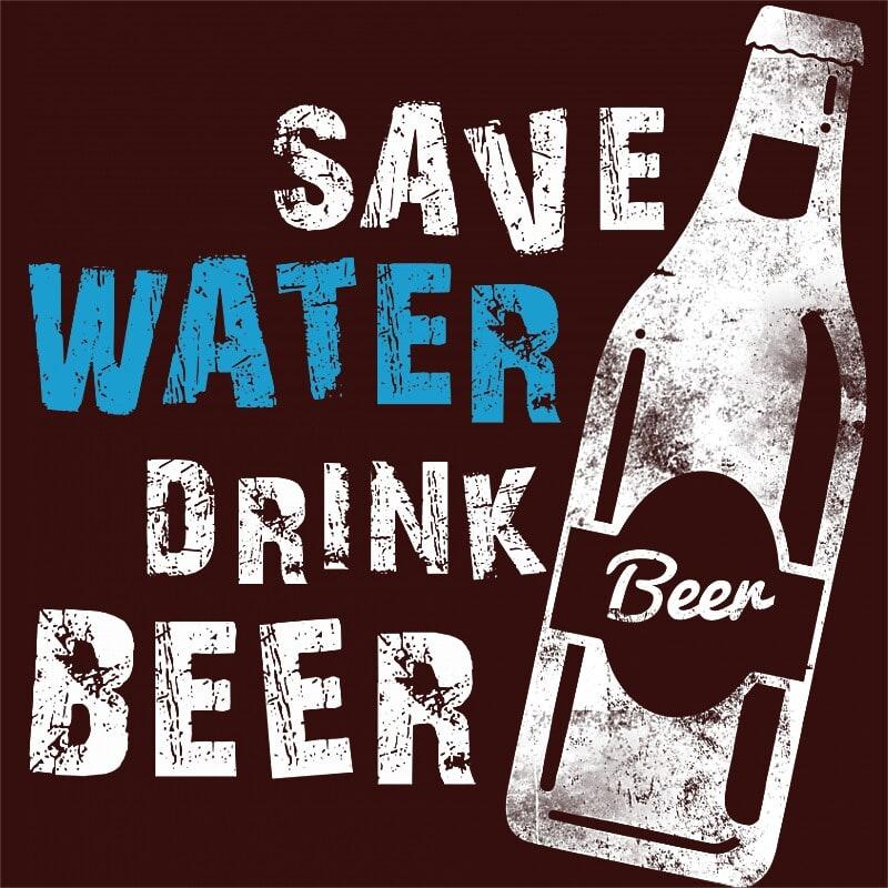 Save Water Drink Beer Póló - Ha Festival rajongó ezeket a pólókat tuti imádni fogod!