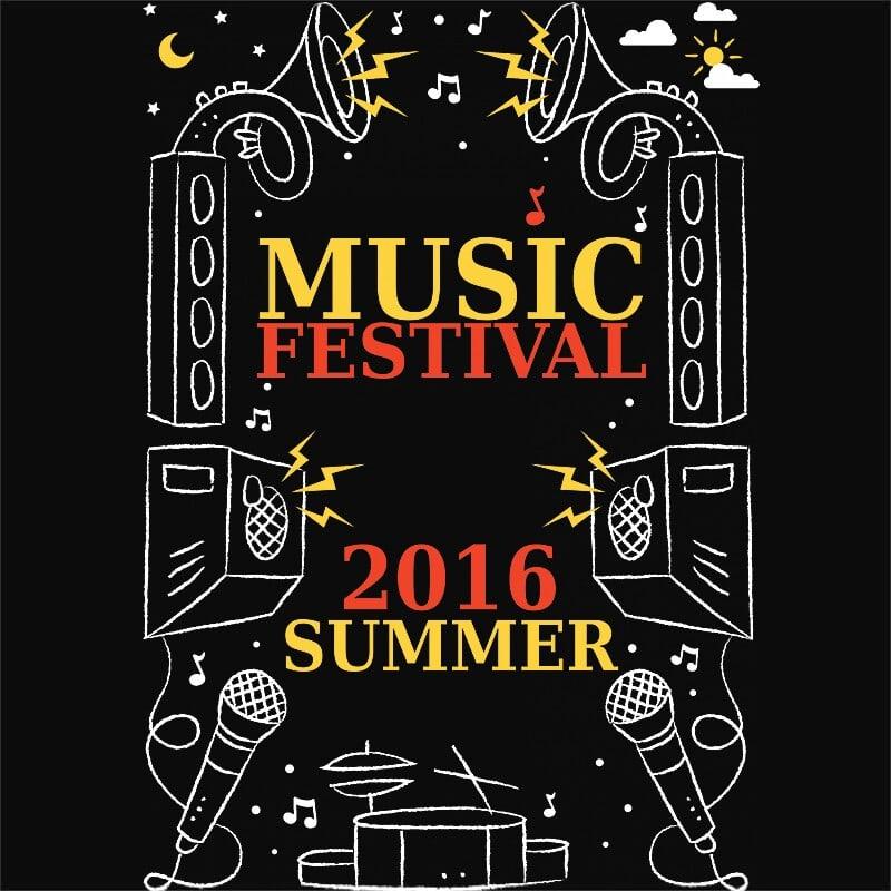 Music Festival 2016 Summer Póló - Ha Festival rajongó ezeket a pólókat tuti imádni fogod!