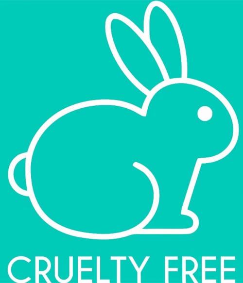 Cruelty free bunny Póló - Ha Vegetarian rajongó ezeket a pólókat tuti imádni fogod!