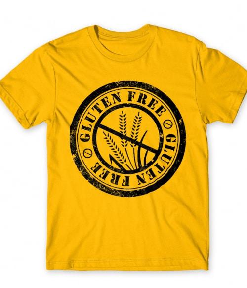 Gluten free logo Póló - Ha Vegetarian rajongó ezeket a pólókat tuti imádni fogod!