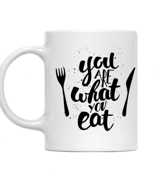 You are what you eat Póló - Ha Vegetarian rajongó ezeket a pólókat tuti imádni fogod!