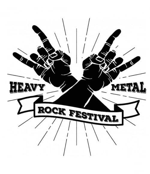 Heavy Metal Rock Festival Póló - Ha Festival rajongó ezeket a pólókat tuti imádni fogod!