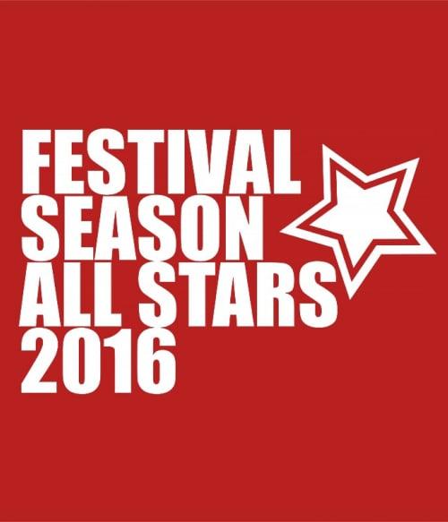 Festival All Stars Póló - Ha Festival rajongó ezeket a pólókat tuti imádni fogod!