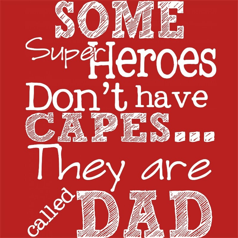 Some superheroes don't have capes Póló - Ha Family rajongó ezeket a pólókat tuti imádni fogod!