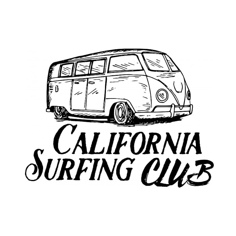 California Surfing Club Póló - Ha Summer rajongó ezeket a pólókat tuti imádni fogod!