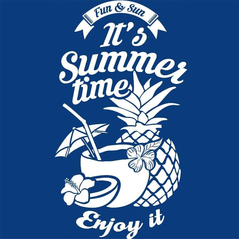 It's summer time Póló - Ha Summer rajongó ezeket a pólókat tuti imádni fogod!