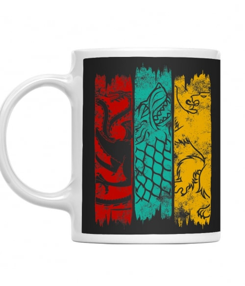 Game of thrones houses Póló - Ha Game of Thrones rajongó ezeket a pólókat tuti imádni fogod!