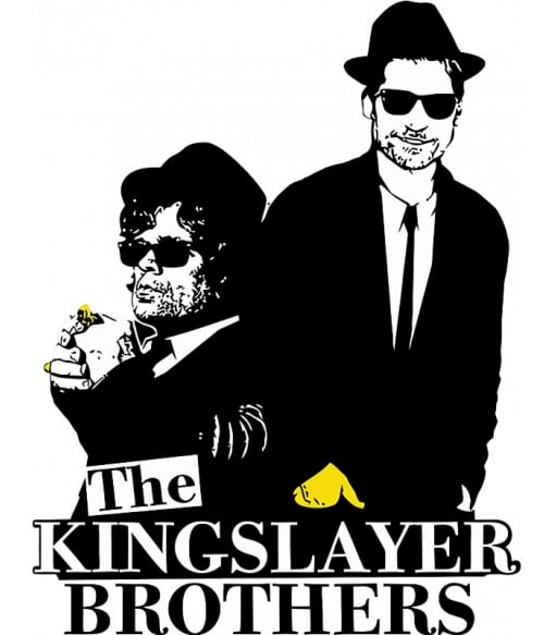 Kingslayer brothers Póló - Ha Game of Thrones rajongó ezeket a pólókat tuti imádni fogod!