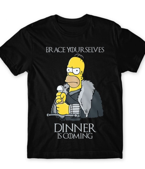 Dinner is coming Póló - Ha Game of Thrones rajongó ezeket a pólókat tuti imádni fogod!