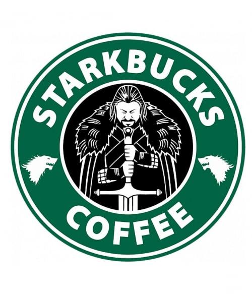 Starkbucks Coffee Póló - Ha Game of Thrones rajongó ezeket a pólókat tuti imádni fogod!