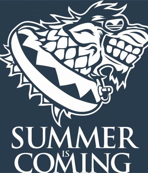 Summer is coming old stark logo Póló - Ha Game of Thrones rajongó ezeket a pólókat tuti imádni fogod!