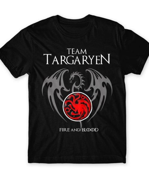 Team Targaryen Póló - Ha Game of Thrones rajongó ezeket a pólókat tuti imádni fogod!