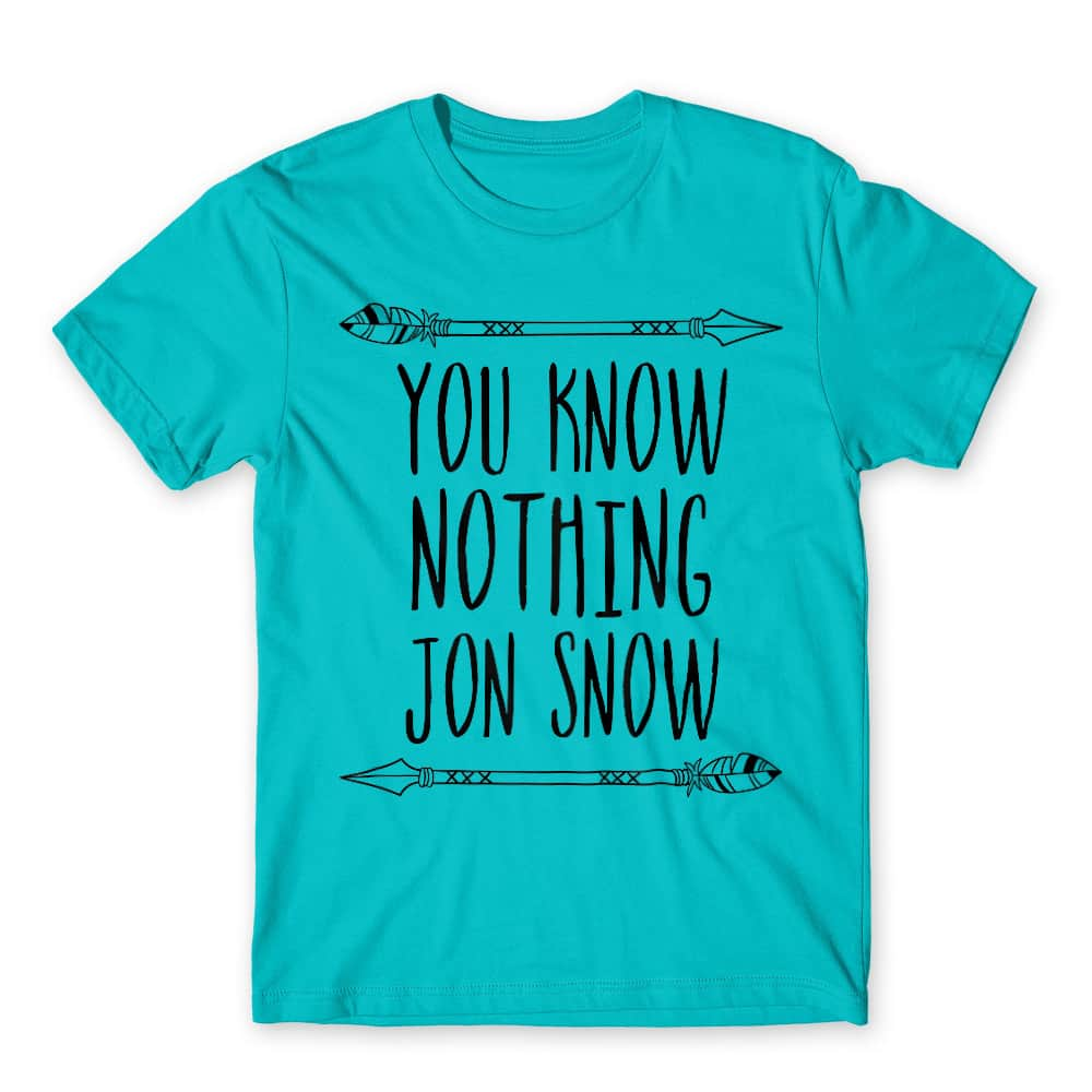 You know nothing Jon Snow Póló - Ha Game of Thrones rajongó ezeket a pólókat tuti imádni fogod!