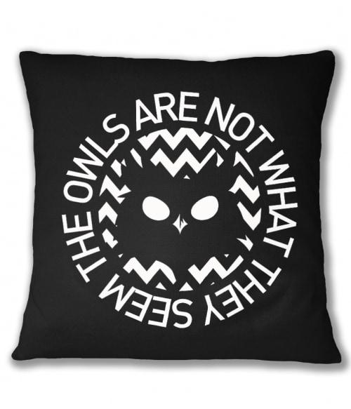 The owls are not what they seem 2 Póló - Ha Twin Peaks rajongó ezeket a pólókat tuti imádni fogod!