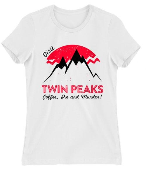 Visit Twin Peaks Póló - Ha Twin Peaks rajongó ezeket a pólókat tuti imádni fogod!