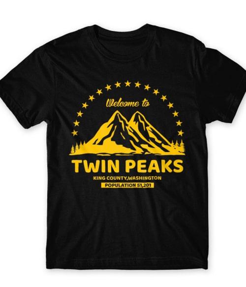 Welcome Twin Peaks Póló - Ha Twin Peaks rajongó ezeket a pólókat tuti imádni fogod!