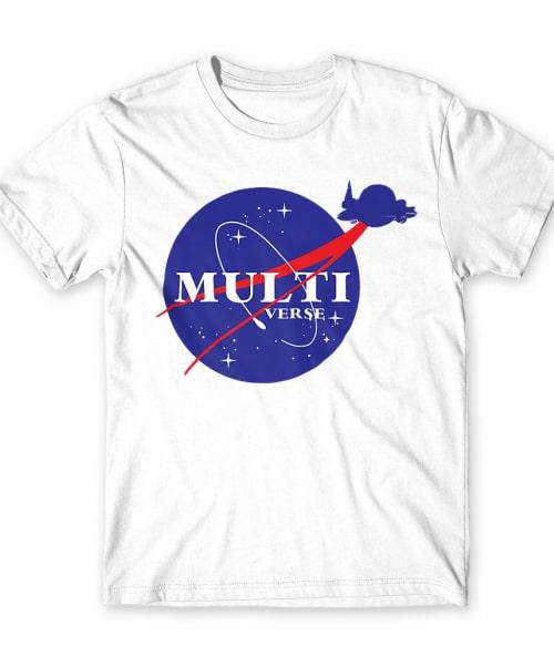 Multiverse Nasa logo Póló - Ha Rick and Morty rajongó ezeket a pólókat tuti imádni fogod!