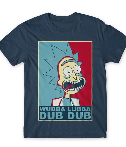 Rick Obama Style Póló - Ha Rick and Morty rajongó ezeket a pólókat tuti imádni fogod!