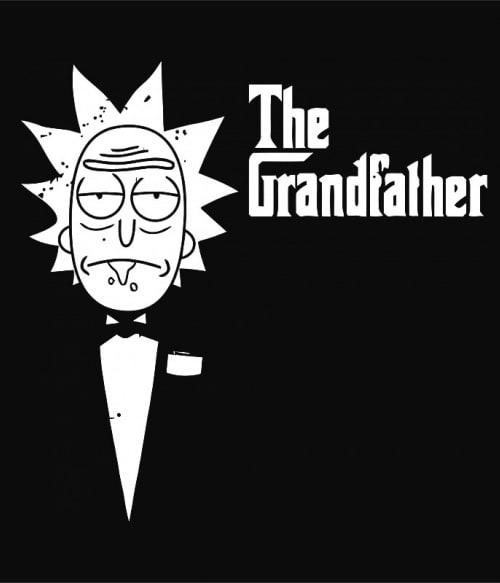 The grandfather Rick and Morty Póló - Ha Rick and Morty rajongó ezeket a pólókat tuti imádni fogod!