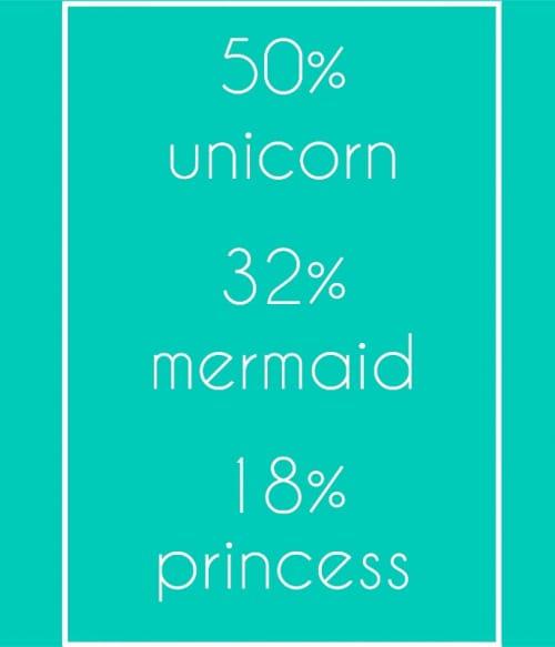 Unicorn Mermaid Princess Póló - Ha Unicorn rajongó ezeket a pólókat tuti imádni fogod!