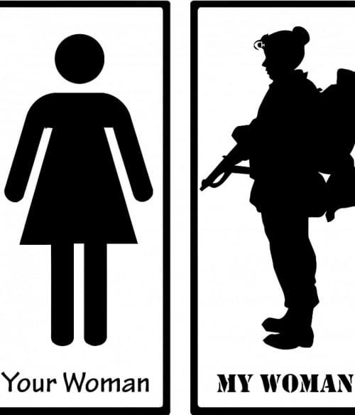 Army woman Póló - Ha Soldier rajongó ezeket a pólókat tuti imádni fogod!