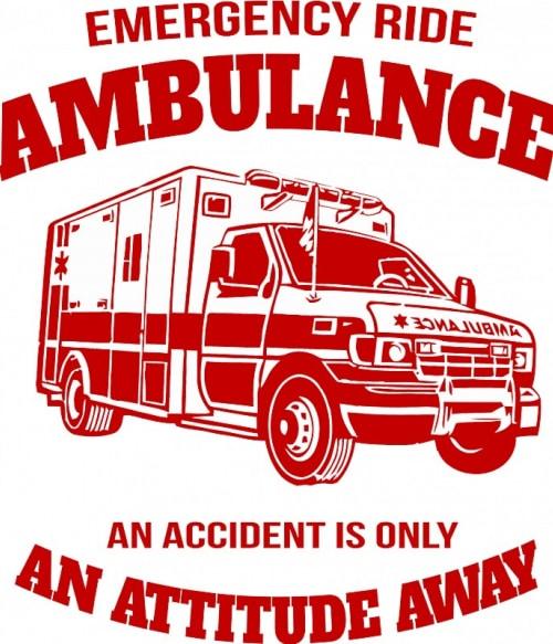 Emergency ride Póló - Ha Ambulance rajongó ezeket a pólókat tuti imádni fogod!