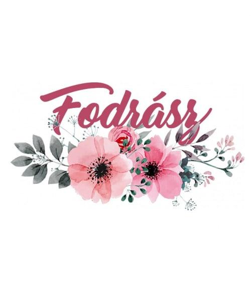 Fodrász virág Póló - Ha Hairdresser rajongó ezeket a pólókat tuti imádni fogod!