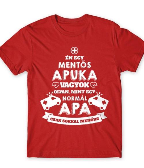 Mentős apa Póló - Ha Ambulance rajongó ezeket a pólókat tuti imádni fogod!