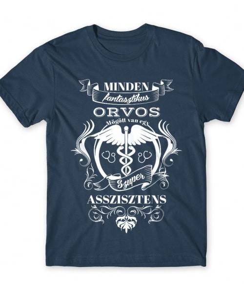 Minden orvos mögött Póló - Ha Nurse rajongó ezeket a pólókat tuti imádni fogod!