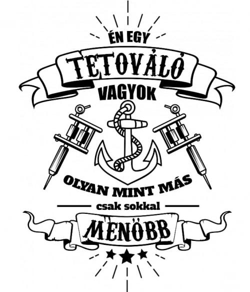 Old school tetováló vagyok Póló - Ha Tattoo rajongó ezeket a pólókat tuti imádni fogod!