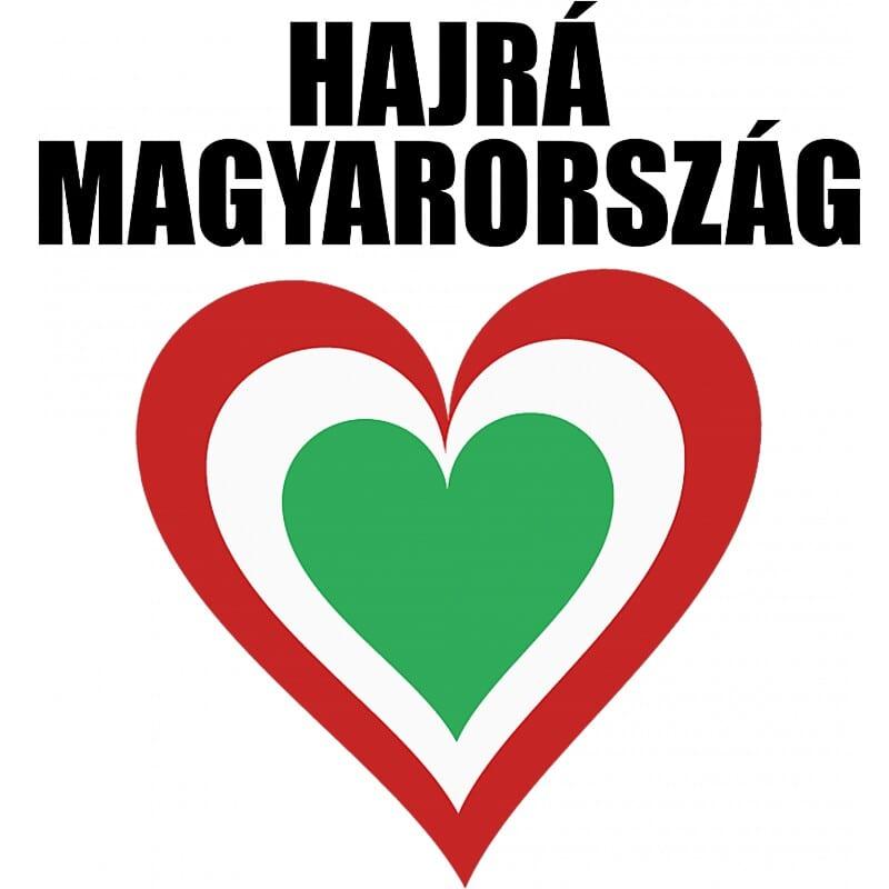 Hajrá Magyarország Szív Póló - Ha Football rajongó ezeket a pólókat tuti imádni fogod!