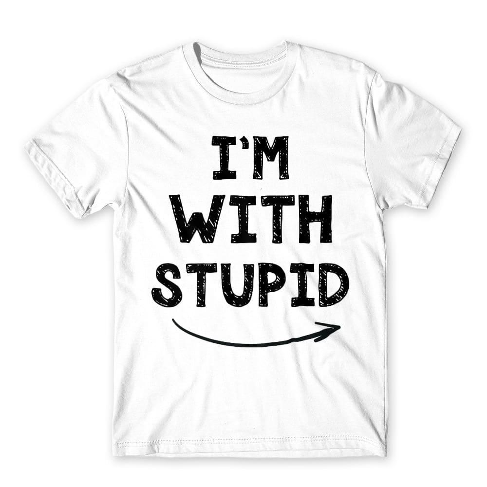I'm with stupid Póló - Ha Friendship rajongó ezeket a pólókat tuti imádni fogod!
