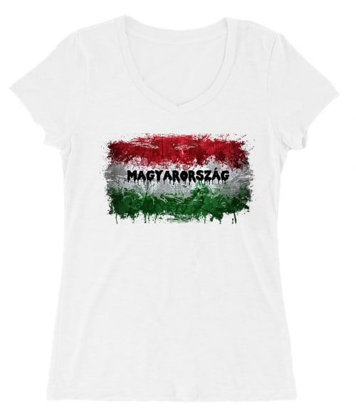 Magyarország Zászló Splash Póló - Ha Football rajongó ezeket a pólókat tuti imádni fogod!