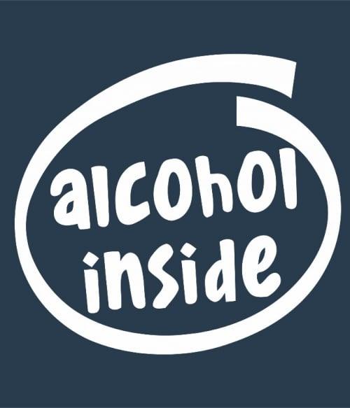 Alcohol inside Póló - Ha Drinks rajongó ezeket a pólókat tuti imádni fogod!