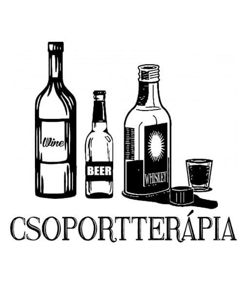 Csoportterápia Póló - Ha Drinks rajongó ezeket a pólókat tuti imádni fogod!