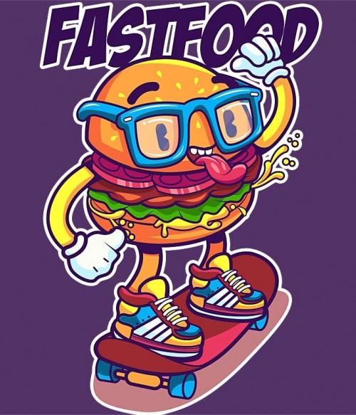 Fastfood Póló - Ha Food rajongó ezeket a pólókat tuti imádni fogod!