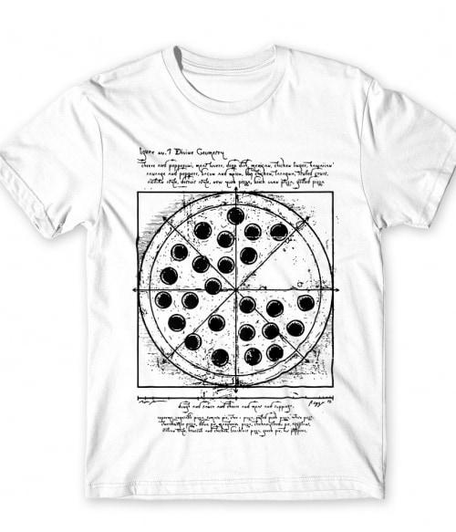Pizza da Vinci Póló - Ha Food rajongó ezeket a pólókat tuti imádni fogod!