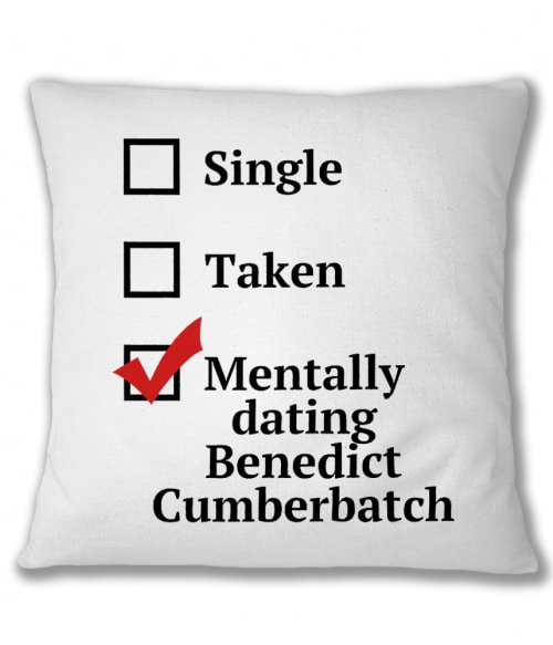 Mentally Dating Cumberbatch Póló - Ha Sherlock rajongó ezeket a pólókat tuti imádni fogod!