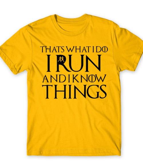 That's what I do run Póló - Ha Running rajongó ezeket a pólókat tuti imádni fogod!