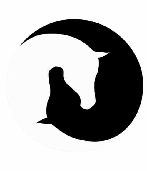 Horse yin-yang Póló - Ha Horse rajongó ezeket a pólókat tuti imádni fogod!