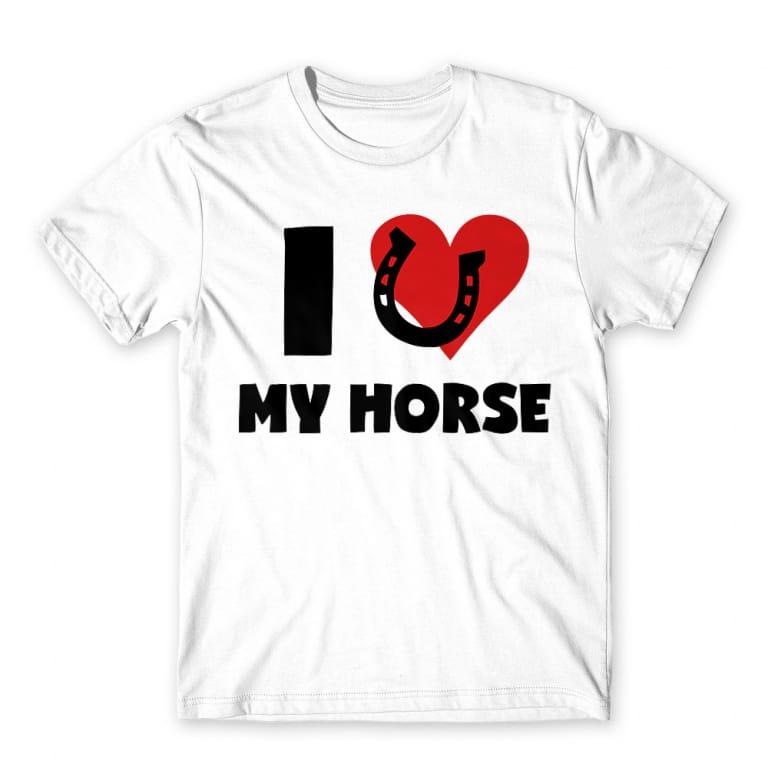 ae279e768e I love my horse Póló - Horse