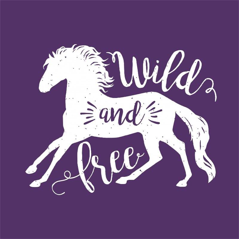 Wild and free horse Póló - Ha Horse rajongó ezeket a pólókat tuti imádni fogod!