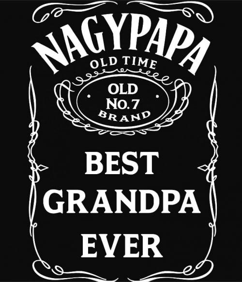 Nagypapa Jack Daniel's Póló - Ha Family rajongó ezeket a pólókat tuti imádni fogod!