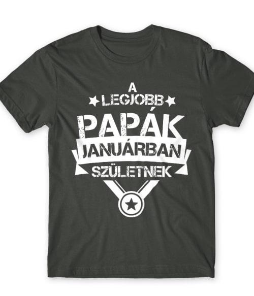 Legjobb papa Január Póló - Ha Family rajongó ezeket a pólókat tuti imádni fogod!