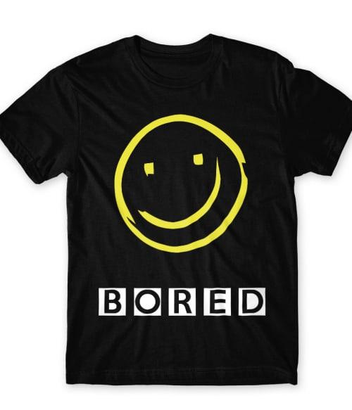 Bored Smiley Póló - Ha Sherlock rajongó ezeket a pólókat tuti imádni fogod!