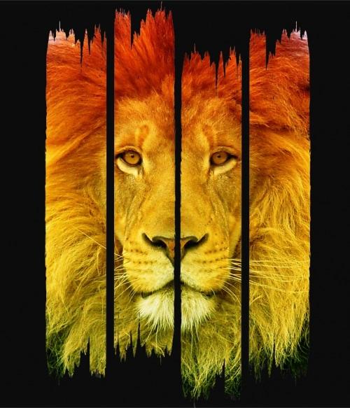 Lion stripes Póló - Ha Lion rajongó ezeket a pólókat tuti imádni fogod!